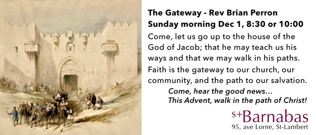 Dec 1 Advent 1: The Gateway